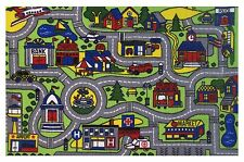 "Car Play Fun Rugs  DRIVING TIME FT-103 1929 Play Rug 19"" X 29"" Same Day Shipping"