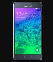Samsung Galaxy Alpha | Grade B+ | AT&T | Charcoal Black | 32 GB | 4.7 in Screen
