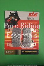 2 X SBS 734 HS FR HONDA CBR 600 RR 2003 - 2004 FRONT BRAKE PADS