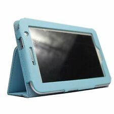 Leather Case for 7-Inch for Samsung Galaxy Tab 2 P3100/P3110 Blue LW Brand NEW