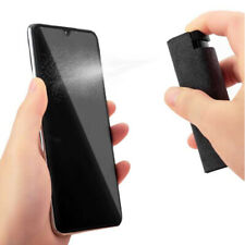 2 In1 Portable Phone Screen Cleaner Microfiber Cloth Set Computer Screen Cleaner