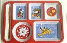 New listing Disney Mickey Mouse & Friends Christmas Food Tray - Children's Dinner Tray
