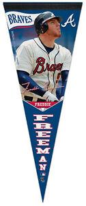 Freddie Freeman SIGNATURE SERIES Atlanta Braves Premium Felt Collector's PENNANT