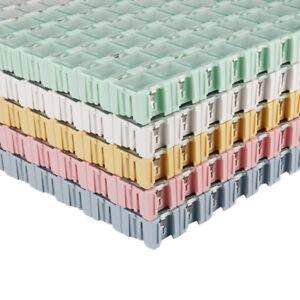 50/100pcs Electronic Case Components Box Patch Laboratory Storage Boxes SMT SMD