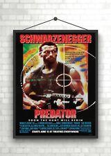 Predator Classic Movie Poster Art Print A0 A1 A2 A3 A4 Maxi