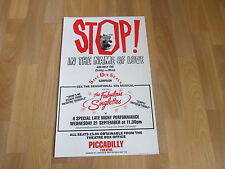 The Fabulous Singlettes in STOP in the Name of Love PICCADILLY Theatre Poster