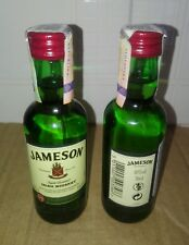10 X Bottiglietta Mignon di Vetro Jameson Irish Whiskey 50 ml - 40 % Vol.