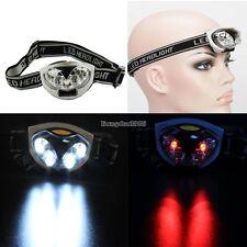 Waterproof 6 LED Bike Bicycle Cycle Hiking Headlight Torch AAA Head Lamp Hot  ED