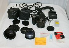 Nikon Coolpix 8800 VR 8MP Digital Camera 10x ED Zoom Flash Lenses Charger Lot