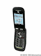 Motorola Quantico - Black (Alltel) Cellular Phone Good