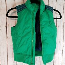 Gap Kids Boys Outdoor Puffer Vest Size Extra Small Green Blue