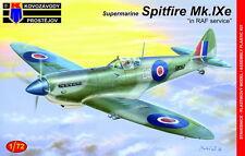 Kovozavody Prostejov 1/72 Model Kit 7283 Supermarine Spitfire Mk.IXE RAF Service