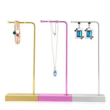 European Style Metal Display Rack Showing Stand for Necklace Earrings Ring