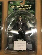 "Blackest Night Black Lantern Superman 7"" Figure Series 7 DC Direct 2011 DC Comic"