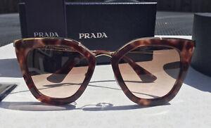 Prada Ladies Cinema Evolution Cats Eye Sunglasses PR53SS UE