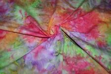 Fat Quarter Batik Rainbow Multi Colore Brillante 100% cotone tessuti quilting