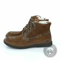 NEW BORN Men's Murray Lace Up Walking Boots in Bark / Brown Sugar - 8 US