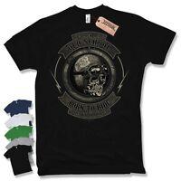 BIKER T-Shirt - Oldschool born to ride Motorrad Motorcycle Gr. S M L XL XXL