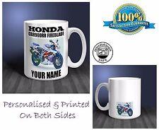 Honda CBR900RR Fireblade Motorbike Personalised Ceramic Mug Gift (MB058)