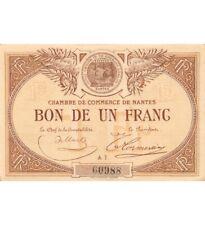 CHAMBRE DE COMMERCE DE NANTES - 1 FRANC 1918