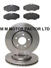 Vauxhall Vivaro, DTI, CDTI & DI 1.9, 2.0 & 2.5 Front Brake Discs & Pads