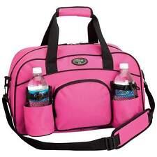 9a6b78e0a63a Womens Sports Brand New Pink Tote Workout Gym Bag Water Bottle Storage