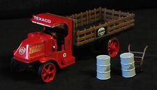 FIRST GEAR TEXACO GOLDEN CLEAN CLEAR MOTOR OIL AC MACK STAKE TRUCK 19-2571 MIB