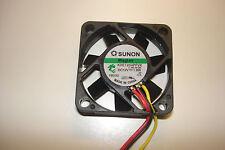 Sunon Fan 12VDC 40 X 40 X 10 MM 9.5 CFM Vapor Bearing New