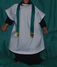 """Black Monk Robe for 1//6 scale 12/"""" Action Figure Man Dragon BBI Hot Toys"""