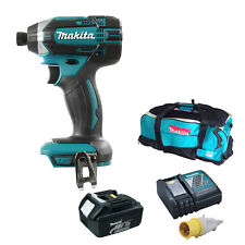 MAKITA 18V DTD152 IMPACT DRIVER 1 BL1830 BATTERY 110v DC18RC CHARGER LXT600 BAG