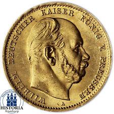Jäger 242 Kaiserreich 10 Mark Gold 1872 Goldmünze (bfr) Wilhelm I von Preußen
