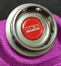 HKS Engine Oil Fuel Filler Cap Billet Gunmetal For Nissan 240sx 350Z 370Z S13