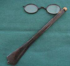 Plastic Frame Oval Original Vintage Spectacles