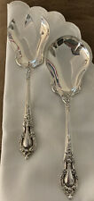 New listing Lunt Silversmiths Sterling Silver Eloquence Solid Salad Set, 2pcs., 9-1/4 in.