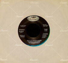 """LITTLE RIVER BAND """"PAPER PARADISE/Face In The Crowd"""" CAPITOL 5609 (1986) 45rpm"""