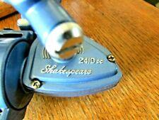 ~~Vintage Shakespeare 2410 dc~~Spinning Reel Convertible Crank Blue 4.2:1 Japan~