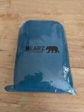 Bearz Outdoor Pocket Blanket for Beach & Camping 55″x60″ Waterproof, Blue, New