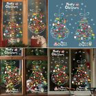 Christmas Tree Xmas Removable Stickers Art Decal Wall Home Shop Dorm Decoration