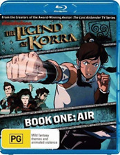 The Legend Of Korra : Book One - Air   (BLU RAY) Region B  -sealed