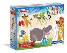 Disney Junior Die Garde der Löwen 3+6+9+12 Puzzle Kinderpuzzle Clementoni 20801
