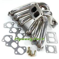 Exhaust T4 Turbo Manifold FOR Toyota Supra 93-98 JZA80 2JZGTE Lexus IS300 00-04