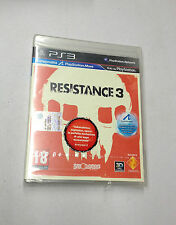 RESISTANCE 3  PS3 PLAYSTATION 3 PAL NUOVO SIGILLATO