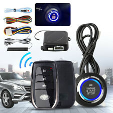 Car Alarm Start Security System Keyless Entry Push Button Remote For Toyota
