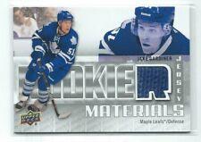 Jake Gardiner 2011/12 Upper Deck Rookie Materials Jersey Card #RM-JG