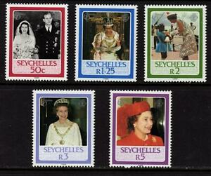 Seychelles 1986 The 60th Anniversary of the Birth of Queen Elizabeth II