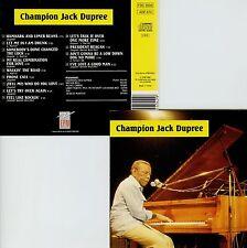 CHAMPION JACK DUPREE  studio 1977 / 1983