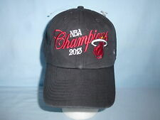 MIAMI HEAT  2013 NBA CHAMPIONS slouch style CAP/HAT  NWT  Fits All   by 47 Brand
