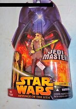 STAR WARS REVENGE OF THE SITH Kit Fisto Jedi Master  #22 MOSC