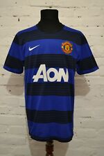MANCHESTER UNITED AWAY FOOTBALL SHIRT 2012/2013 SOCCER JERSEY TRIKOT MENS L