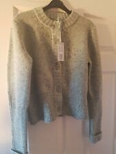 COS Cardigan 100% Wool Olive Green Size Small